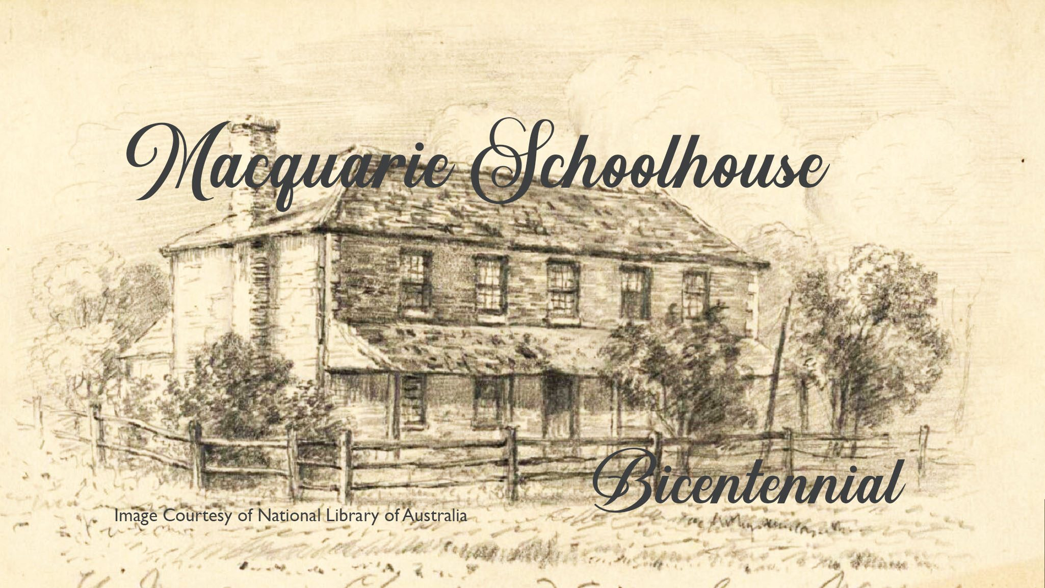 Header Image - Macquarie Schoolhouse Bicentennial